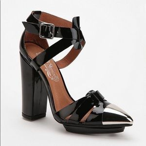 Jeffrey Campbell Great Moments UO High Heels 7.5